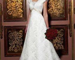 Robe de mariée empire | 1