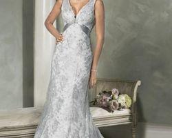 robe de mariée empire couleur grise