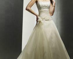 robe de mariée forme A