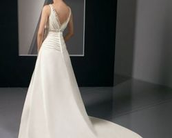 robe de mariée empire   4