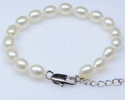 Bracelet en perle blanche | 50