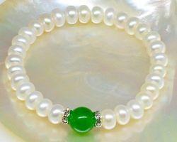 Bracelet en perle blanche | 51