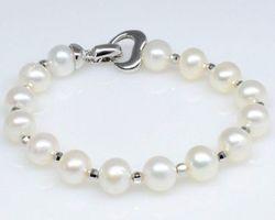 Bracelet en perle blanche | 52