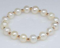 Bracelet en perle blanche | 53