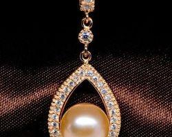 Pendentif en perle blanche/rose/lavande | 63
