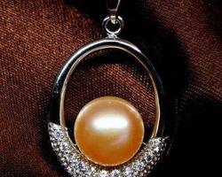 Pendentif en perle blanche/rose/lavande | 64