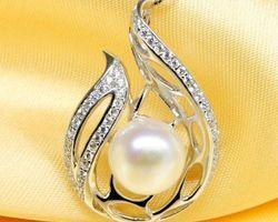 Pendentif en perle blanche | 65