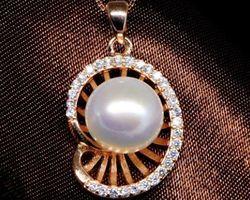 Pendentif en perle blanche | 68