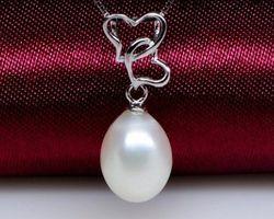 Pendentif en perle blanche | 86