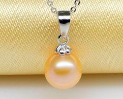Pendentif en perle blanche/rose/lavande | 97