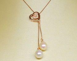 Colier de perle blanche | 101