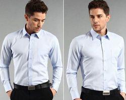 Chemise pour Homme col classique de couleur